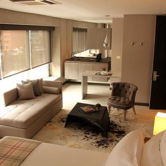 Quarto Hotel CITYFLATS