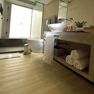 Banheiro Hotel CITYFLATS