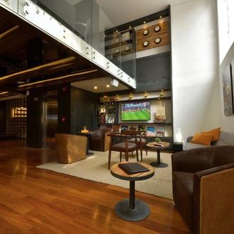 Sala de estar Hotel CITYFLATS