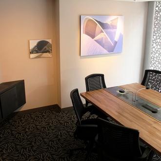 Sala de reuniões Hotel CITYFLATS